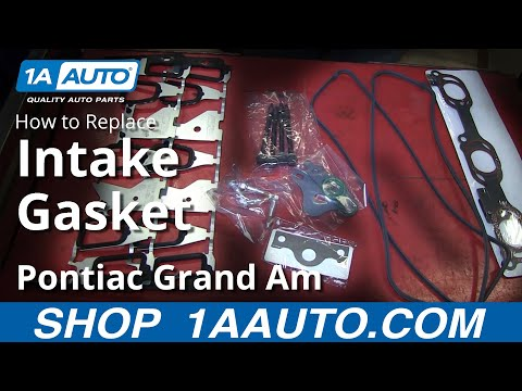 PART 3 of 3 How To Install Replace Lower Intake Manifold Gaskets GM 3.4L V6