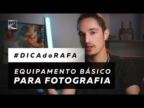 Quais Os Equipamentos Básicos Para Começar A Trabalhar Com Fotografia?