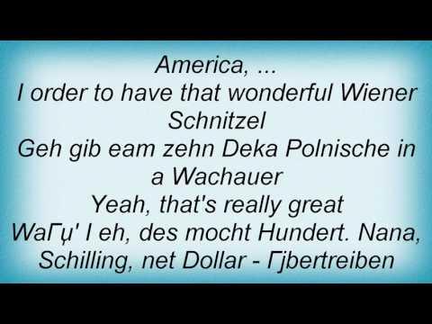 Falco - America Lyrics