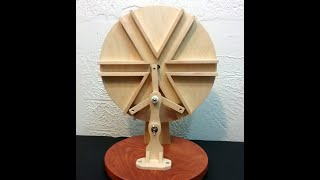 Interesting Kinetic Art Projects made out of wood