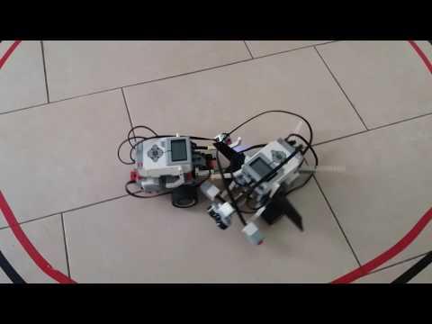 Robot Sumo Lego MindStorms EV3