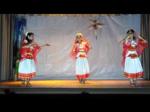 Indian Classical Dance - Christian video