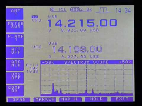 icom ic756 scope