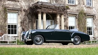 Ex Prince Philip 1954 Lagonda 3-Liter Drophead Coupe Heading for auction