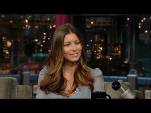 Jessica Biel (Letterman)