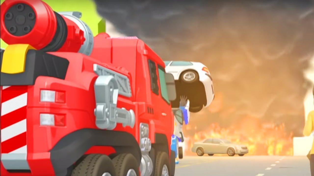 Тоботы новые серии - 24 Серия 2 сезон - мультики про роботов трансформеров [HD]