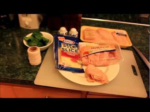 Pollo enrollado con jamón y queso #kraftsaborlatino