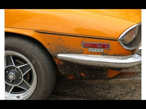 1971 Triumph Stag Racer Culver