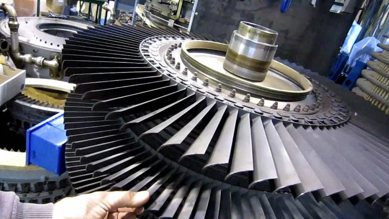 Jet Engine Turbine Blade Noise Youtube