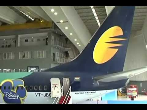 The TV channel Disney India and Jet Airways unveiled a Disney-themed aircraft