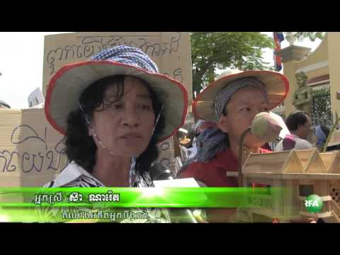 Former Boeung Kak Protesters Petition to Parlimentarians