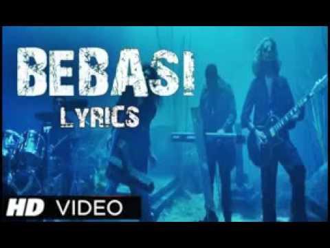James new hindi song BEBASI from WARNING lyrics