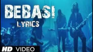 James new hindi song BEBASI from WARNING lyrics