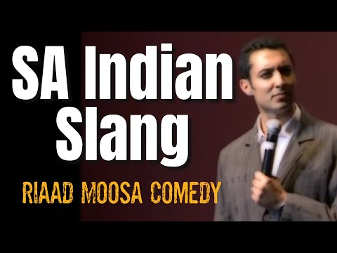 South African Indian Slang - Riaad Moosa (The Comedy Doctor) thumbnail