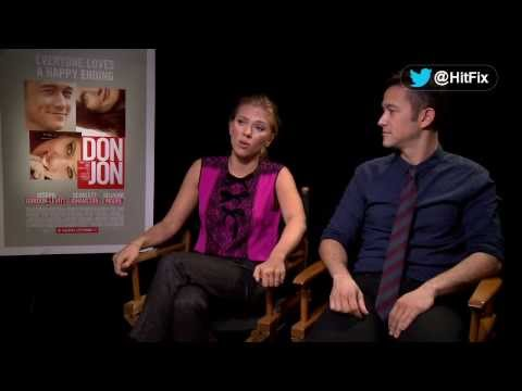 Scarlett Johansson and Joseph Gordon Levitt on the roles of love and porn in 'Don Jon'