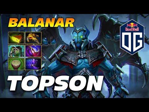 Topson Night Stalker Balanar | Dota 2 Pro Gameplay