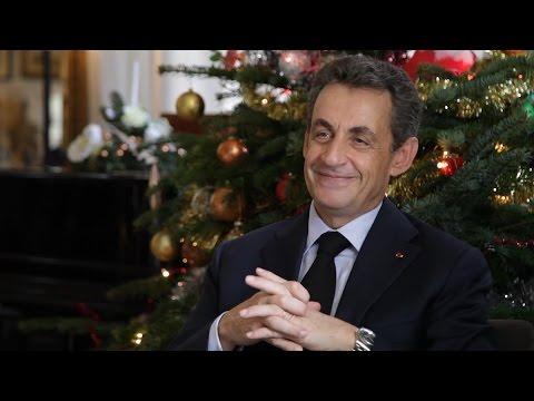 Vœux de Noël de Nicolas Sarkozy - 2015