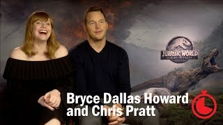 Jurassic World: Interview with Chris Pratt and Bryce Dallas Howard | Timed Out | Time Out London
