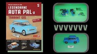 Cobi - Legendarne Auta PRL-u - Numer 5 - Montaż i prezentacja modelu - TRABANT 601