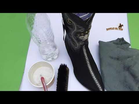 Como limpiar botas en piel de mantarraya original e imitación en HD