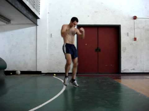 Boxing footwork drill Image 1