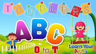 Alphabet for Kids to Learn O to T | Learn Alphabet Videos for Kids | Kids Trendz TV