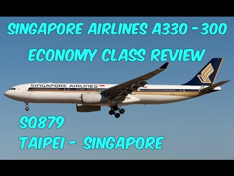 Singapore Airlines Economy Class Review: SQ879 Taipei to Singapore