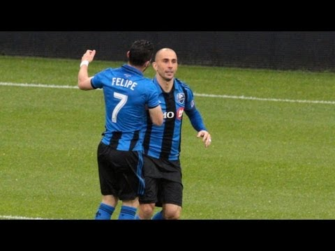 GOAL: Justin Mapp finds Marco Di Vaio over the top