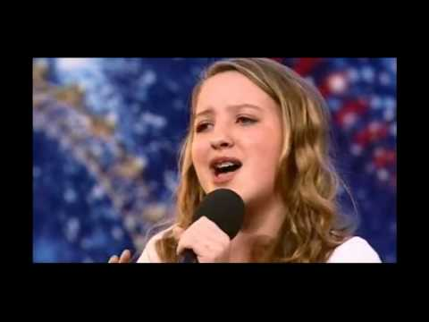 Olivia Archbold sings In The Arms Of An Angel (Sarah McLachlan) Britains Got Talent 2010 Audition HD