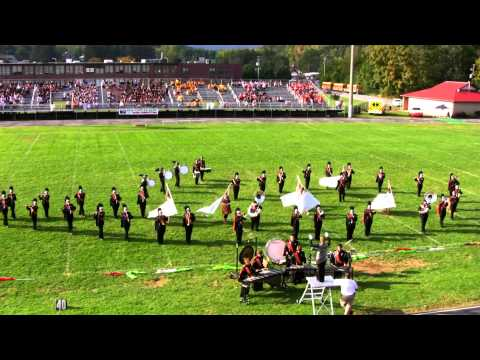 Chilhowie High School Mighty Warrior Marching Band - Chilhowie Apple Festival 2011