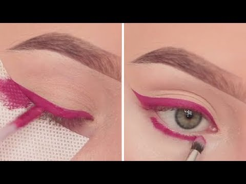 15 Best Eyeliner Tutorials & Looks 2018 😱 How To Apply Eyeliner Like a PRO!
