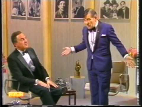 Norman Wisdom Interview Bob Monkhouse Show PT 1