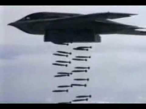 B-1 B-2  amp B-52 Doing Heavy  B 52 Stratofortress Carpet Bombing