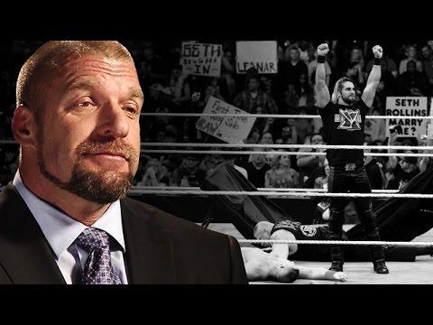 Triple H Addresses Seth Rollins' Curb Stomp to Brock Lesnar: January 14, 2015