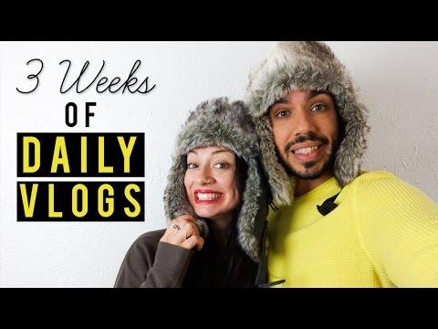 3 Weeks Daily Vlogging Europe