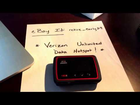 VERIZON UNLIMITED data Jetpack MiFi / NO THROTTLE hotspot 4G LTE XLTE 1 TB of data usage - not AT&T