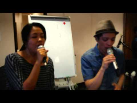 Singing with Bamboo Mañalac part 1