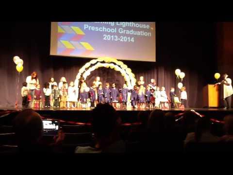 Lily preschool Graduation!