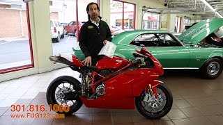 2006 Ducati 999R for sale with test drive, driving sounds, and walk through video