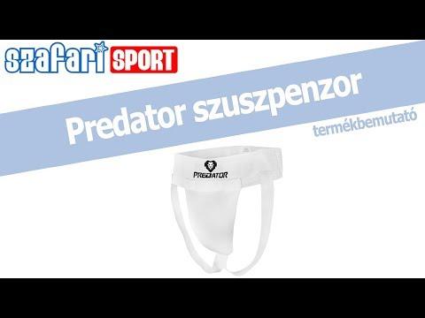 Predator fehér szuszpenzor termékbemutató videó