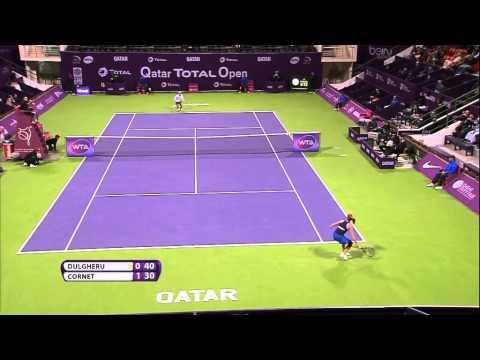 Alize Cornet 2015 Qatar Total Open Hot Shot
