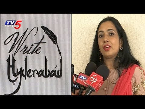 Handwriting Competition In Hyderabad | Write Hyderabad | TV5 News