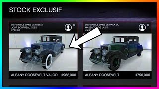 "GTA 5 DLC Update ""Valentine's Day 2016"" Content - NEW Albany Roosevelt Valor, Sexy Clothing & MORE!"