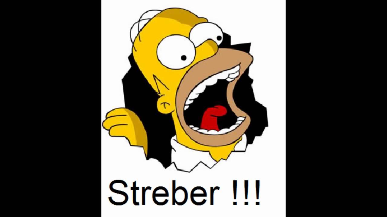 Homer Simpson Streber - YouTube