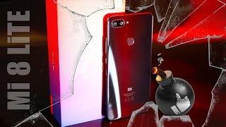 СТЕКЛЯННАЯ БОМБА! Xiaomi Mi 8 Lite - обзор