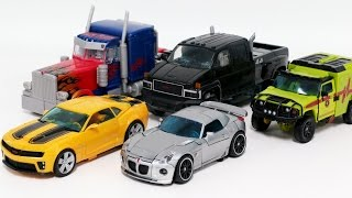 Transformers Movie Autobot Ironhide Optimus Prime Bumblebee Jazz Ratchet Vehicles Robot Car Toys