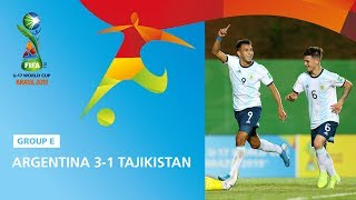 Argentina v Tajikistan Highlights - FIFA U17 World Cup 2019 ™