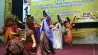 Tarian Satu Malaysia Sekolah2 Di Kompleks Pendidikan JPN Kedah