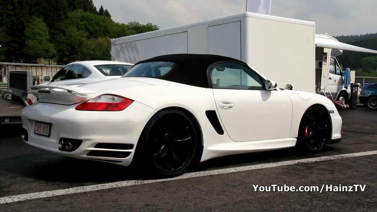 Porsche Boxster Techart Gt Sport Youtube