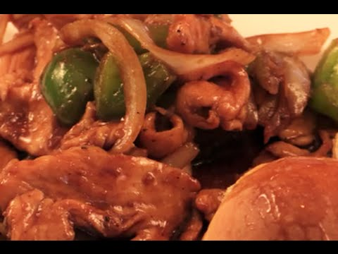 Panda Express Black Pepper Chicken-Chef Tom